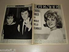 GENTE 1965/6=CARROLL BAKER=BOBBY SOLO=HORST BUCHHOLZ=JANET MARGOLIN=PIERANGELI=