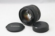【Exc+】Voigtlander Nokton 58mm f1.4 SL II For Nikon Ai-s from Japan 127341
