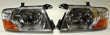 Mitsubishi Pajero Montero MK III 2000-2006 front head lamps lights  SET only LHD