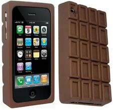 Ideal Gift Silicone Chocolate Case Cover + Screen Protector iPhone 3G 3GS in Box