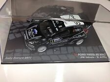 DIECAST IXO 1:43 FORD FIESTA RS WRC LATVALA RALLY FRANCE 2011 MODEL CAR SCALE