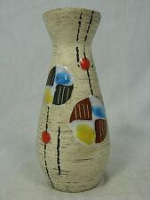 Schöne kleine / small beautiful  50er Jahre Design Ü -  Keramik Vase 432 / 12