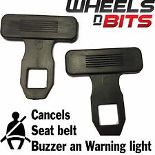 Honda Jazz CRV CRX 2x Universal Seat Belt Buckle Clip Warning Light Clearer