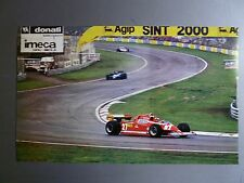 1982 Ferrari 126 CK at the Grand Prix of San Marino Picture Poster RARE! Awesome