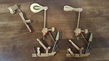 CABLE-NELSON SPINET PIANO DROP ACTION PARTS WHIPPEN/WIPPEN DAMPER HAMMER JACK
