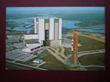 POSTCARD J F KENNEDY SPACE CENTER - SKYLAB 2 ROLLOUT FROM VAB TO COMPLEX 39B