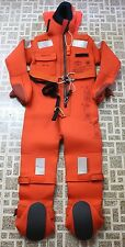 AQUATA Immersion Suit ARO V20 140 with Head Support & heavy-duty harness