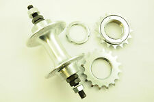 32 SPOKE FLIP FLOP REAR HUB,SEALED BEARINGS + SPROCKETS BUILD OWN WHEEL FIXIE