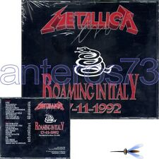 "METALLICA ""ROAMING IN ITALY 1992"" RARE DOUBLE CD ITALY - SEALED"