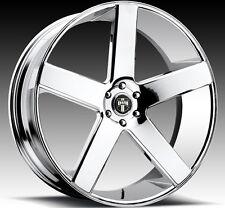 """26"""" Dub Wheels Baller Chrome CONCAVE Rims Tires Silverado 1500 Sierra Tahoe 28"""