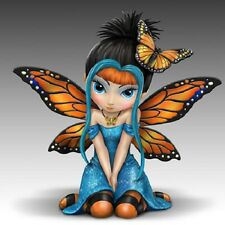 Butterfly Kisses Fairy Figurine Jasmine Becket Griffith Bradford Exchange