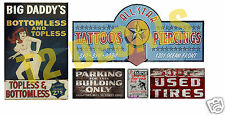 HO Scale Skid Row Structure/Building Decals #4