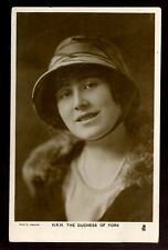 Royalty The Duchess of York future Queen Mother as young woman vintage RP PPC
