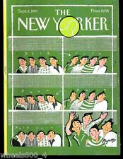 The New Yorker Magazine September 8 1997 Game, Set and Match by Lawrence Mynott