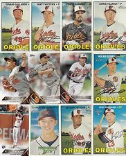 BALTIMORE ORIOLES 5000 BASEBALL CARDS A NICE MIX AND FUN TO COLLECT READ