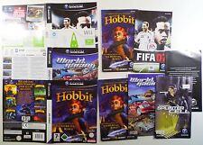 Nintendo GAMECUBE-giochi COVER e istruzioni
