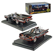 Hot Wheels Heritage Series ~ 1966 TV Classic Batmobile  ~ 1:18 Scale by Mattel