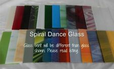 """20 Sheets SPECTRUM Stained Glass (4"""" x 6"""") OPALS CATHEDRALS WATERGLASS &  MORE"""