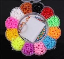 Hot 1200pcs Perler/Hama Mixed Colorful Plastic Beads Puzzle For Kids Fun Toy JJ