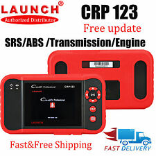 New Genuine LAUNCH X431 CRP123 Code Reader OBD2 Scanner Diagnostic Tool SRS ABS