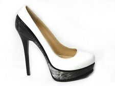 WOMENS LADIES HIGH HEELS PLATFORM POINTED PARTY CLASSIC COURT SHOES PUMPS SIZE