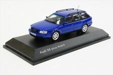 Genuine Audi S6 Plus Avant 1:43 Scale Model - Nogaro Blue