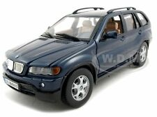BMW X5 BLUE 1/24 DIECAST MODEL CAR BY MOTORMAX 73254