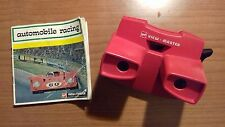 Gaf view master model j avec course automobile 3 reel set D112-E 1970s