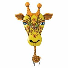 Allen Designs Jaffy the Giraffe Nuovo/Scatola Originale Orologio da parete M. pendolo clock design Orologio p1452
