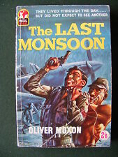 Oliver Moxon,THE LAST MONSOON Vintage Pulp Paperback.