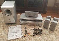 Panasonic SA-HT820V DVD/CD/VHS Combo + RCA DVD Home Theater System VGUC!! Y50