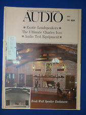 AUDIO MAGAZINE JULY 1968 AKG K-60 REVIEW EXOTIC SPEAKERS DESIGN & MUCH MORE