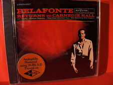 "LSOCD-6007 BELAFONTE "" RETURNS TO CARNEGIE HALL ""(CLASSIC RECORD GOLD-CD/SEALED)"