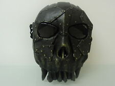 Desert Corps Mesh Full Face Mask Airsoft Game Skull Paintball Safety BB Mask
