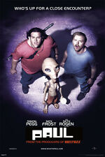 ACTION MOVIE POSTER Paul Movie Poster Abduction Simon Pegg Nick Frost Seth Rogen