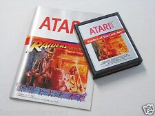 Orange Text Caps Variant Raiders of the Lost Ark ATARI 2600 Game System