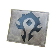 World of Warcraft WOW Horde Logo Wallet Purse Collectible Game Gift Boy