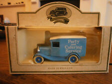 Lledo Days Gone Model A Ford Van with Party and Catering decals