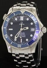 Omega Seamaster James Bond SS high fashion midsize automatic diving watch