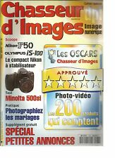 CHASSEUR D'IMAGES N°161 LECON DE PHOTO : LE MARIAGE / SAFARI-PHOTO / LA REPRO