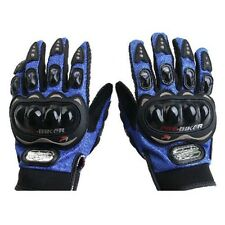 Motocross Summer Fiber Bike Racing Motorbike Gloves Pro-Biker Motorcycle Blue M