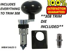 NEW Lee Deluxe Quick Trim Case Trimmer & 308 Trim Die - Everything to trim 308!!