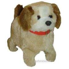 Toy Dog Barking, Flip Sit, and Walks New (Beige)
