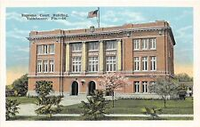 A24/ Tallahassee Florida Fl Postcard c1920 Supreme Court Building