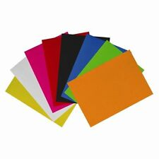 8 Sheets of A4 FELT Assorted Colours Scrapbooking Crafts Paper Card FREE POST