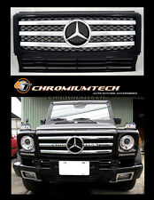 1989-2010 Mercedes W463 G Class BLACK CHROME Grill 2010 Style AMG G55 G63 G320