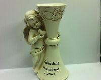 In Loving Memory  Grave Vase Holders Graveside Memorial Flower Pot Grandma