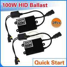 2Pcs 100W Quick Start HID Ballast Replacement For Car Xenon Bulb Conversion Kit