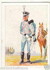 Parade Officer Hussars Cavalry Prussia Army Napoleon War Uniform IMAGE CARD 30s