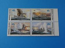 Stamps MH Marshall * SC 242-245 * WWII * MNH * Battle of River Plate * W4 * 1990
